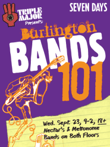 Burlington Bands 101